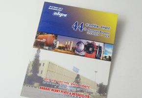 annual report books printed at GK printers