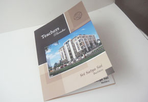 Brochure printed at GK Printhouse