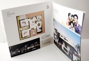 Book type Brochure printed at GK Printhouse