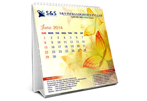 table calendars printing